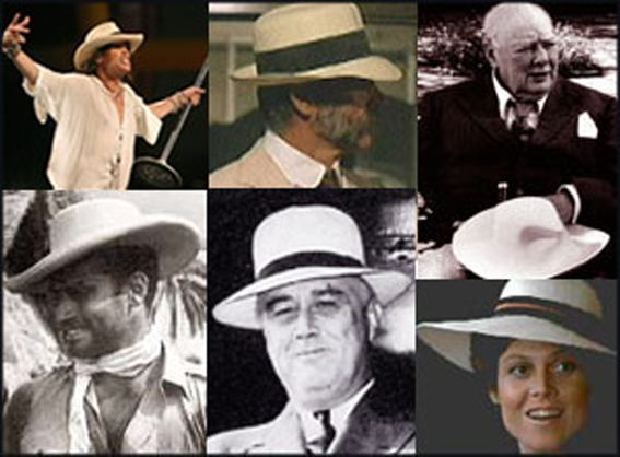 Personaggi famosi con il Panama 97adfbb917e0